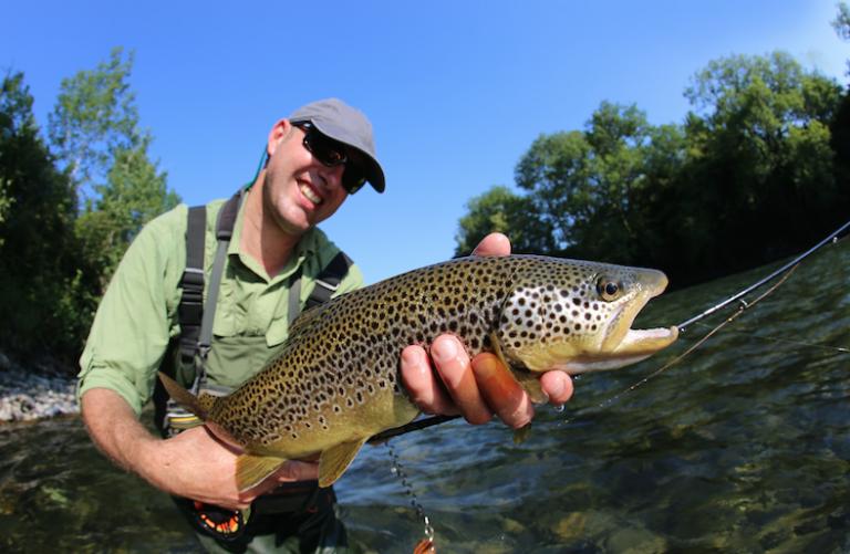 North Carolina trout fishing