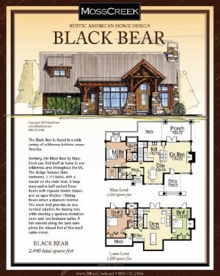 black bear-floor-plan