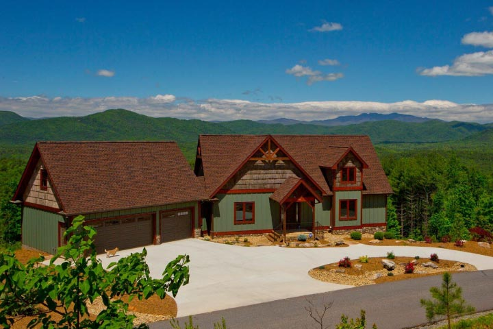 north carolina mountain homes